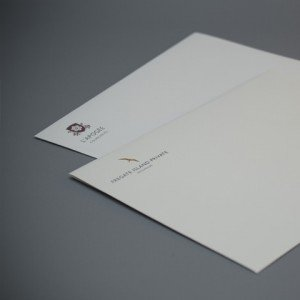 Bespoke Material archival envelopes 220mm x 160mm