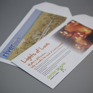DL Pocket Gift Aid Envelope for charities