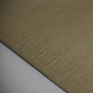 Bespoke Embossed Envelope