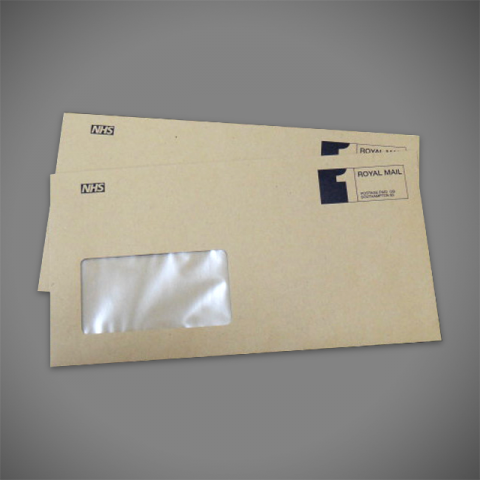 1 Colour DL Manilla Envelope Printing