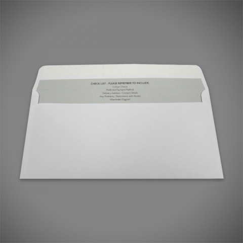 Flexo Printed Reel Fed Manufactured Printed Envelopes