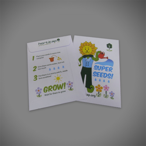 Printed Seed Packets, Seed Packet Envelopes, Printed small pocket envelopes