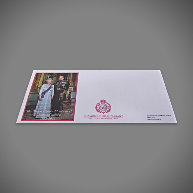 Special Events printed envelope