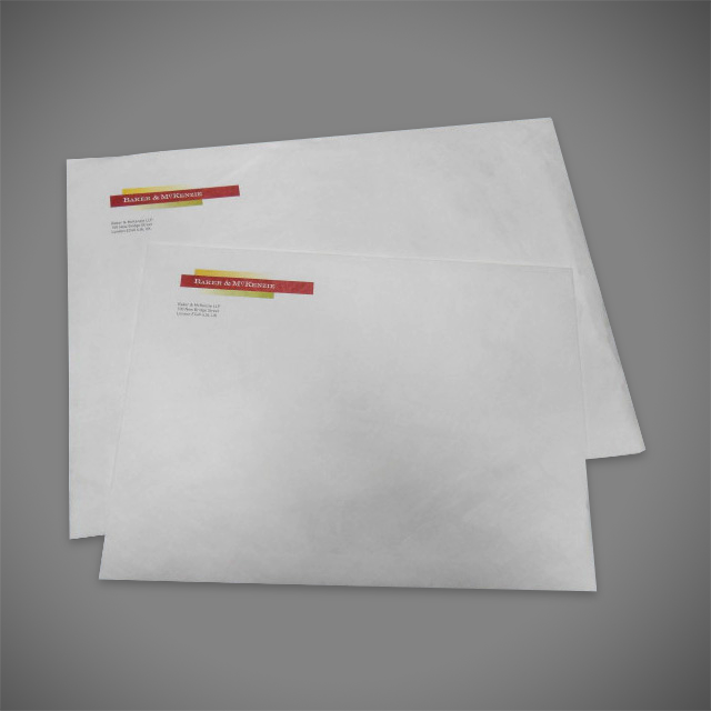 Printed Tyvek Tear-Resistant Waterproof Gusset Envelopes