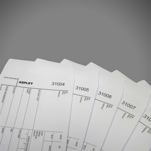 Variable Data Print onto Envelopes, DL, C5, C5, Black or Full Colour