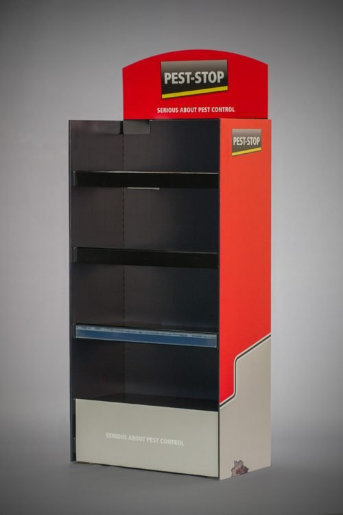 FSDU Manchester Large strong FSDU with clip shelves