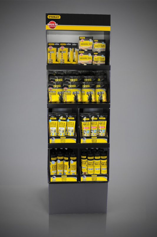 Stanley Tools FSDU Free Standing Display Unit Shelf Display