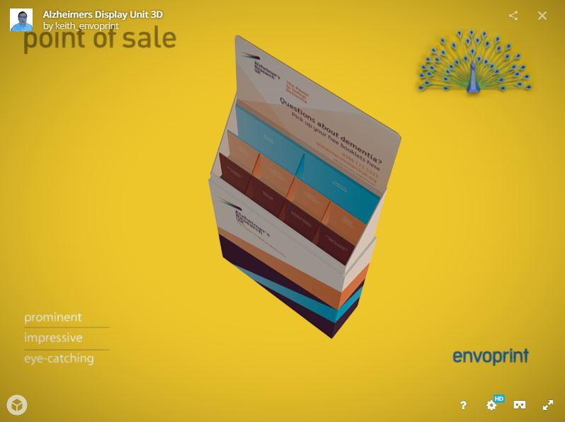 FSDU Display Design - 3D Model Visual » Bespoke Solutions