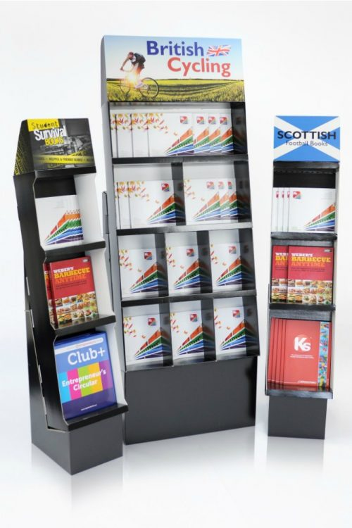 Heavy Duty Book stands for Tesco, Asda, Morrisons, Sainsburys