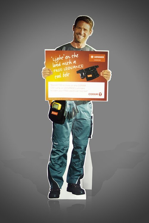 Standees UK, printed cardboard cut-out POS Display