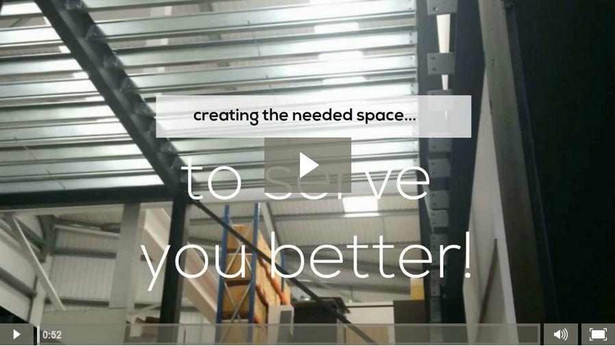 FSDU Mezzanine Expansion Video