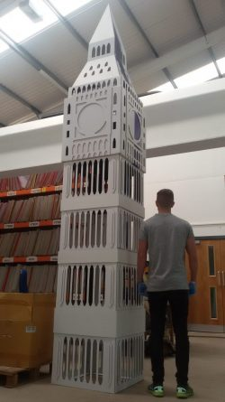 Cardboard Big Ben!