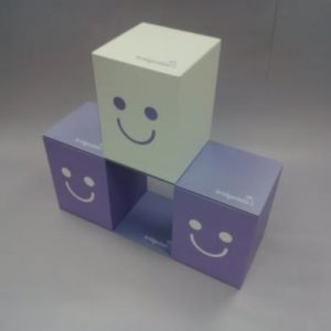 POS Cardboard Cubes Display