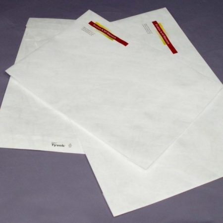 Large and Small printed Tyvek Envelopes