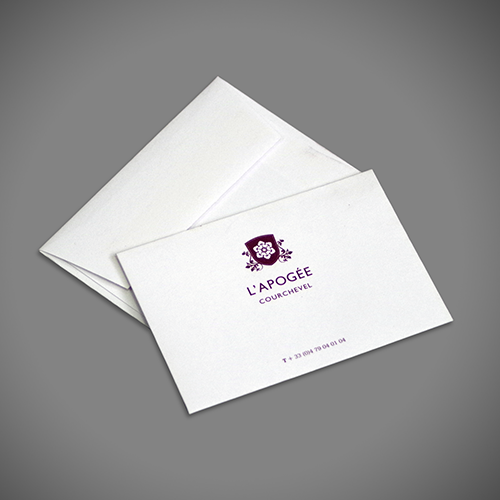 Hotel Key Card Envelope