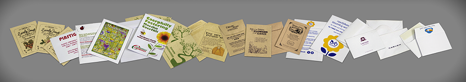 Printed Seed Packet Envelopes