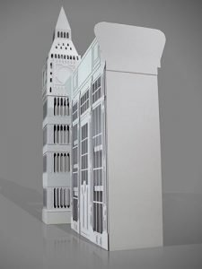 Big Ben and Shopfront Bespoke Cardboard Exhibition Display