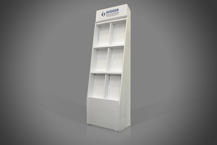 Book Cardboard Display Stands