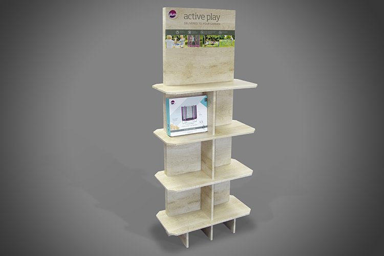 Cardboard Display Unit 2