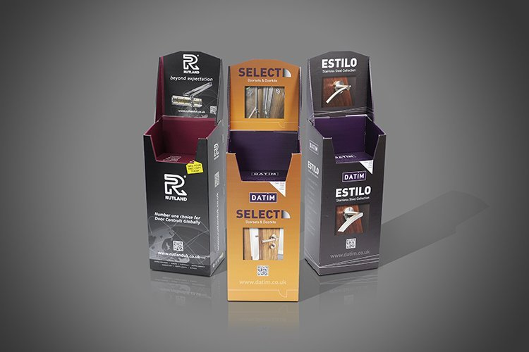 Cardboard Exhibition Display Stands for Trade Shows 5