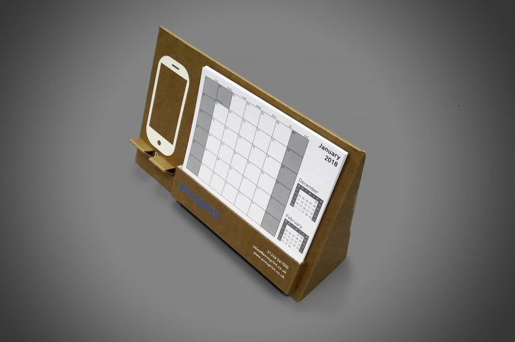 Custom Printed Cardboard Display - Calendar 2018