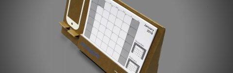 Custom Printed Cardboard Display - Calendar 2018