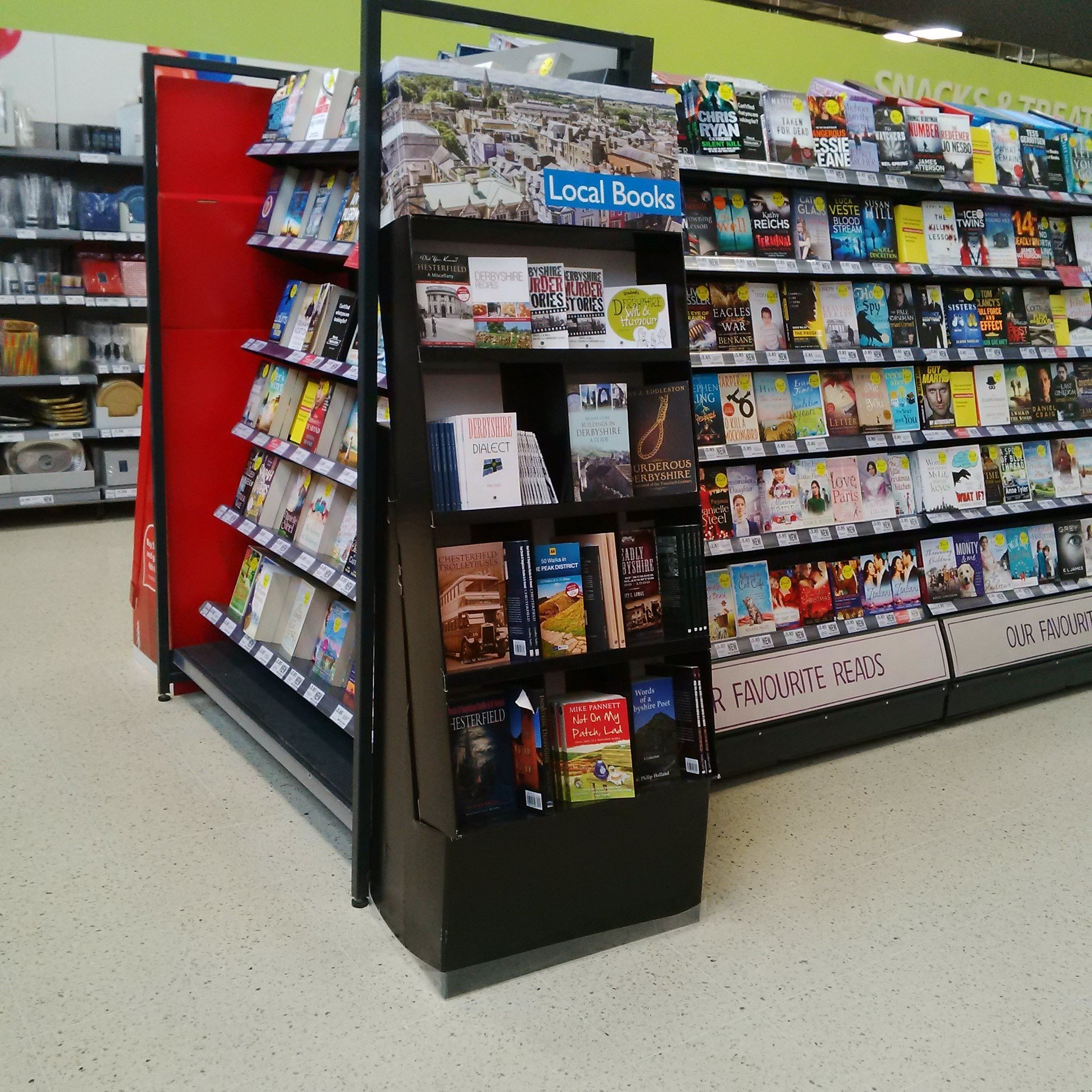 FSDU Book Stands into Tesco | Case Study » Bespoke Solutions