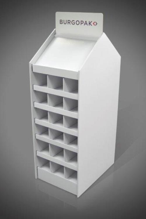 free standing cardboard display units (FSDU) 4