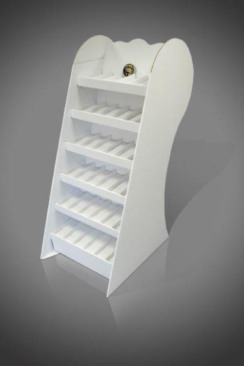 free standing cardboard display units (FSDU) 6