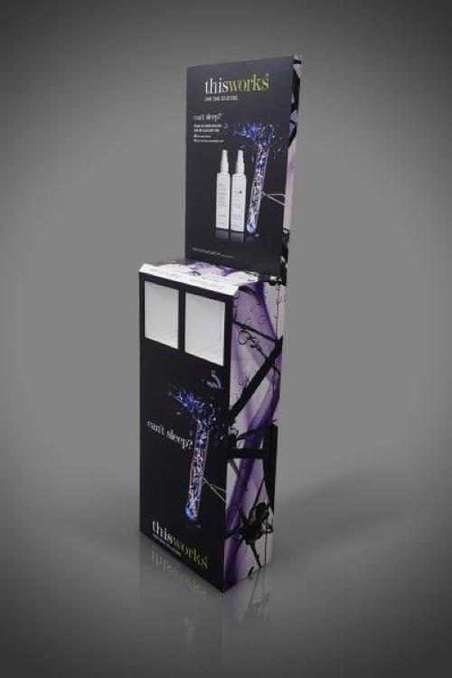 free standing cardboard display units (FSDU) 3
