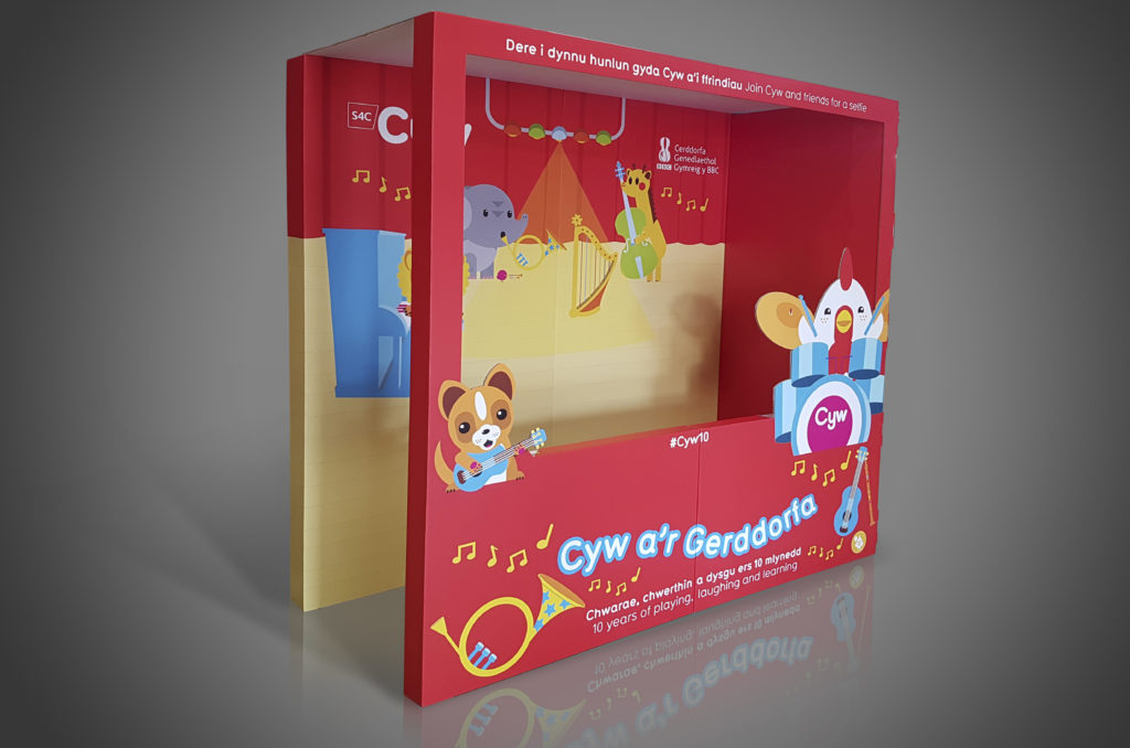 Cardboard Exhibition Display Stands for Trade Shows 7