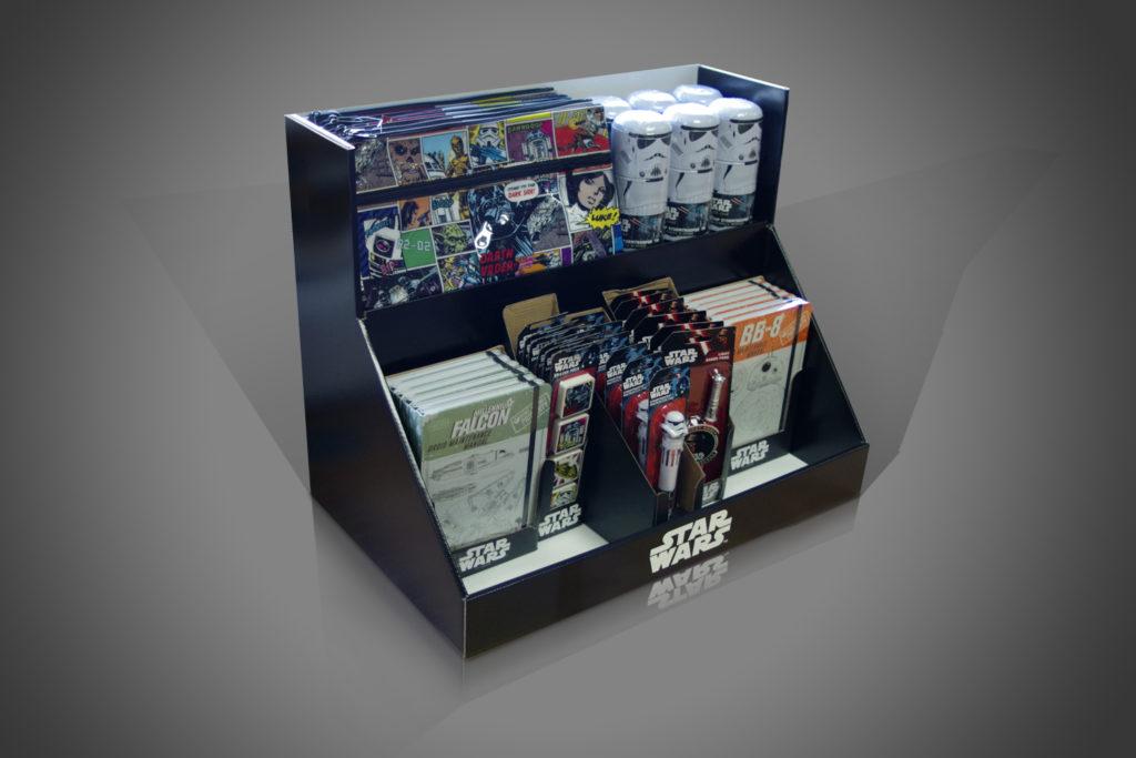 counter display units 4