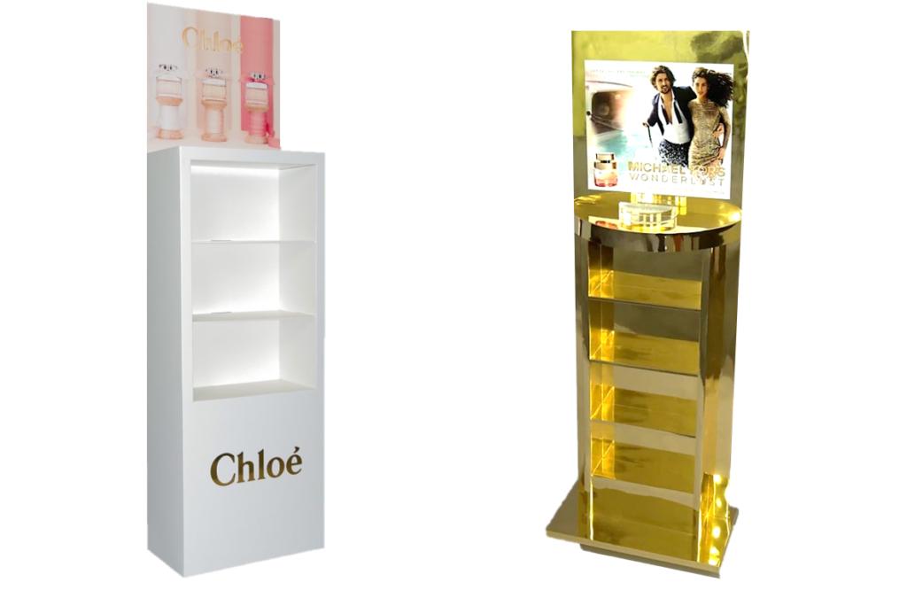 Makeup Display Stands