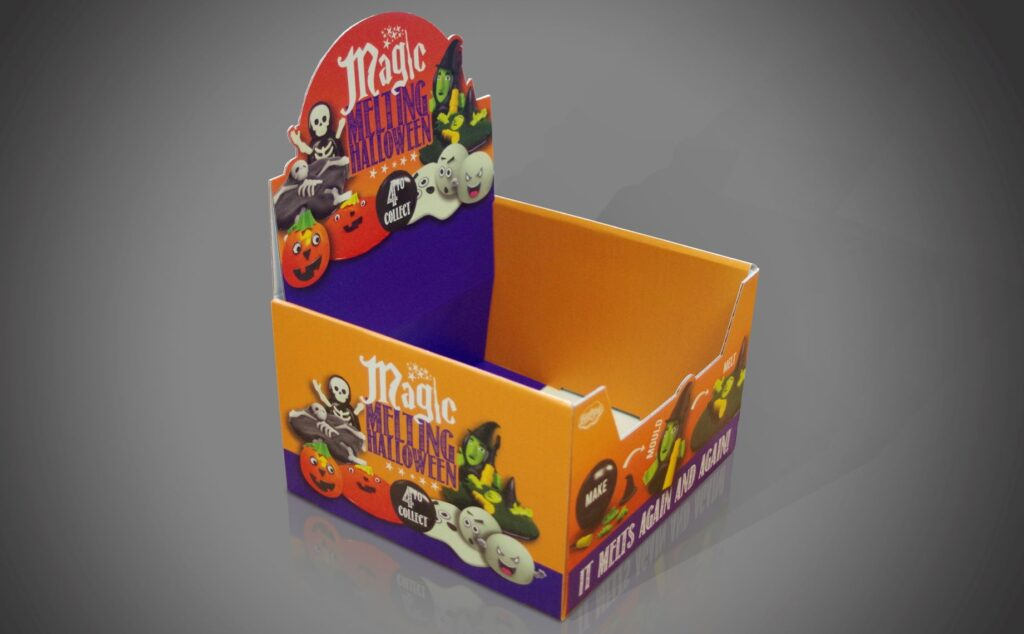 Halloween Theme Point-Of-Sale And Display Stand 1